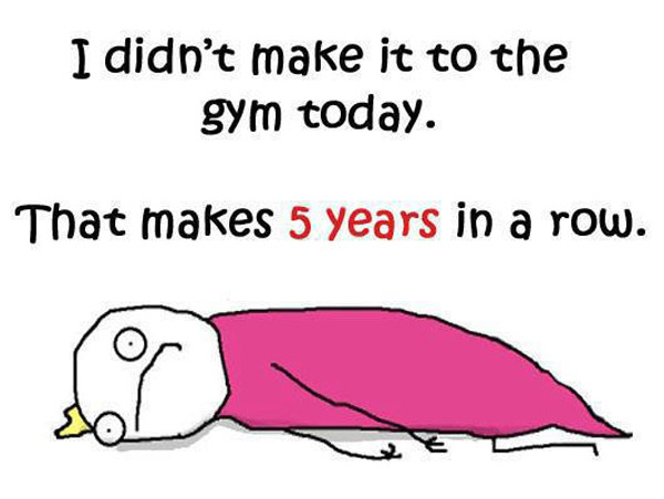 Didn't make it to the gym - Musings by Megha
