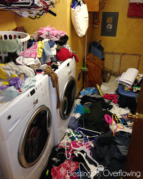 The laundry war zone - Musings by Megha